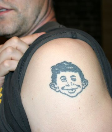 Eric's Tattoo Eric's Alfred Tattoo