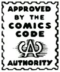 The Comics Code Stamp of Approval