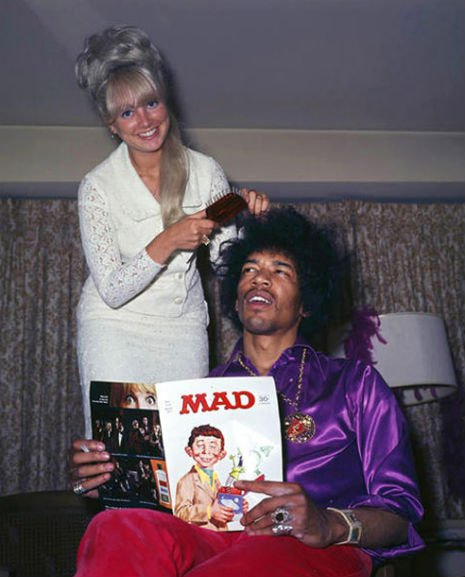 Jimi Hendrix and Mad