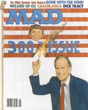 Mad #300 planned prior to the First Gulf War