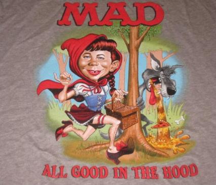 MAD Magazine Cartoon Alfred E Newman 1970/'s Retro T Shirt Tee Funny Gift New