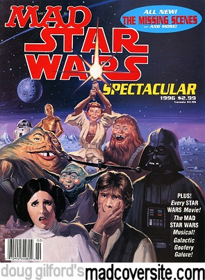 Front of Mad Star Wars Spectacular #1