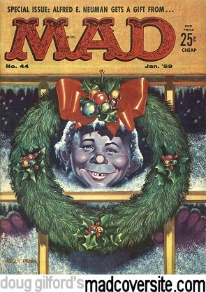 Mad #44 front cover