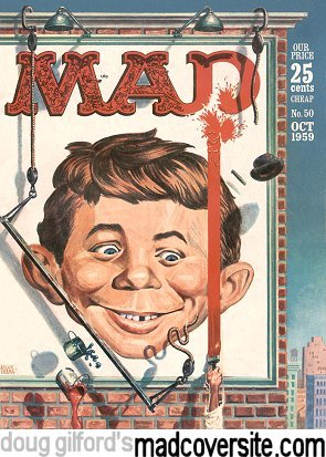 Doug Gilford S Mad Cover Site Mad 50