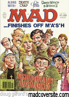 Doug Gilford S Mad Cover Site Mad 234