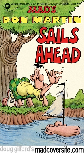 Mad's Don Martin Sails Ahead