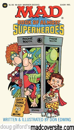 Mad Book of Almost Superheroes