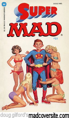 doug gilford s mad cover site mad paperback 51 super mad